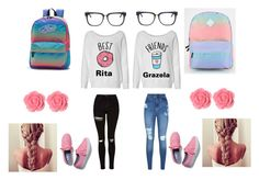 """""""Untitled #85"""" by iraqlovegirl ❤ liked on Polyvore featuring Lipsy, Topshop, Keds, Vans, Dollydagger and RetroSuperFuture"""