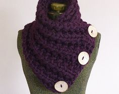 THE LANCASTER SCARF Chunky Hand Knit Scarf in Neutral Tan