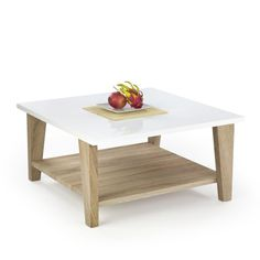 Tables on pinterest - Table basse blanc bois ...