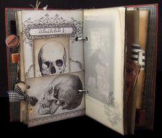 Halloween journal page