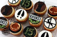 Hunting Cupcakes Hunting Cupcakes, Cheesecake, Desserts, Texas, Food, Animaux, Tailgate Desserts, Deserts, Cheesecakes