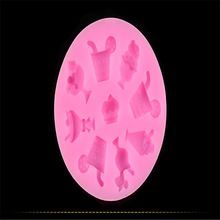 DIY Cake Decorating Tools Variety Cold Drink Ice Cream Shapes Fondant Cake Mold Silicone Bakeware Moulds JJ408(China (Mainland))