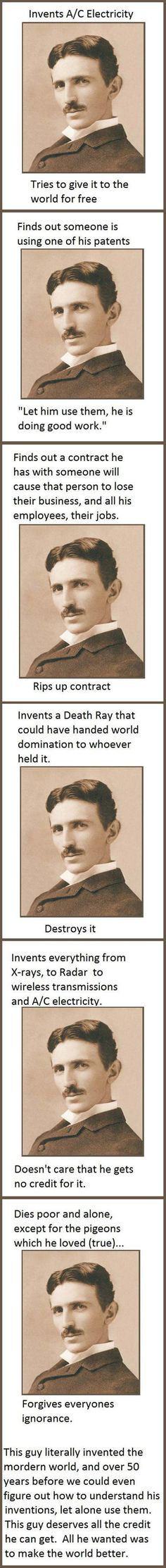 Tesla Was A Good Guy
