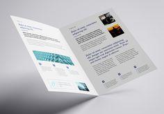 Free bifold A4 leaflet mockup