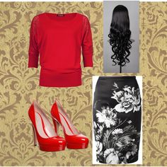 """""""Untitled #340"""" by kristina-norrad on Polyvore"""