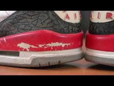 newest collection b781f 6eaa4 Restorations with Vick - Air Jordan Fire Red 3 Deep cleaning   Midsole R..