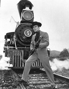 Robert Conrad as James T. West from the television program The Wild Wild West.