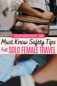Traveling can have its dark side, but fear not with these helpful and simple safety tips for your next solo trip. Solo female travel is never easier with this guide to  travel safety. Don't make these mistakes and you're bound to have the most incredible solo travels #solotravel #solofemaletravel #travel #foreverlostintravel #safetytips #travelsafety #safetravel #traveltips