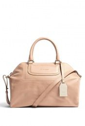 Albane Leather Bowling Tote by See By Chloé