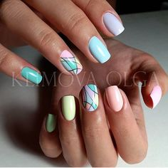 """476 Likes, 2 Comments - Маникюр / Ногти / Nails (@nails_masters) on Instagram: """"Мастер ➡️ @wow_nails_klin"""""""
