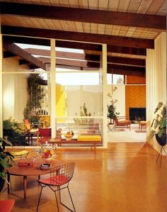Located in La Jolla, California is a house designed by architect Henry Hester and completed in 1961. With its warm tones, beamed ceiling, open plan, and partially covered private courtyard (a feature which, again, needs to make a comeback!) it was Hester's modern view of ideal suburban living.