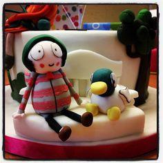 Sarah & Duck #imageofmodelledfigures