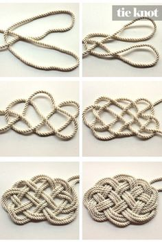 DIY Nautical Rope Necklace
