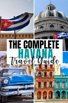 Havana ooh nana! Get your complete 2 night Havana travel guide right here. Find out the best places to explore in the city with my Havana travel tips. With these recommendations you will know all the best things to do in Havana, Cuba during your visit! #havanacubathingstodo #havana #Cuba #havanacubatravelguide Caribbean Islands To Visit, Caribbean Vacations, Travel Tips, Travel Destinations, Travel Guides, Cuba Itinerary, Unique Vacations, Visit Cuba, Cuba Travel