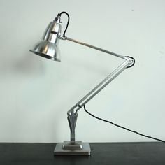 Stripped and Polished Herbert Terry Anglepoise Lamp