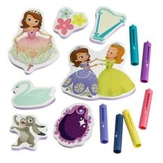 Sofia the First Princess Bathtub Crayon and Sticker Set >>> You can get additional details at the image link.Note:It is affiliate link to Amazon.