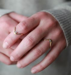 Peak Sapphire Stacking Ring - Mavenhaus Collective