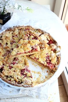 Rhubarb Recipes, Baked Goods, Cookie Recipes, Macaroni And Cheese, Oatmeal, Food And Drink, Dishes, Eat, Cooking