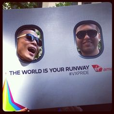 "Our teammates can't be more proud to embody the spirit of San Francisco Pride with our theme, ""The World is Your Runway."""