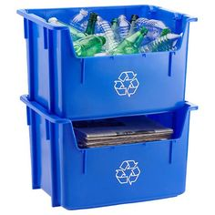 Present - Recycling is an easy and free way for even a college student to make a difference.  Recycling increases environmental sustainability.