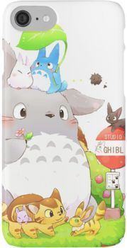 Totoro Family iPhone 7 Cases