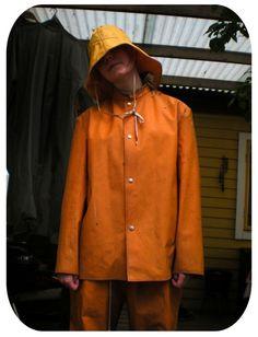 Vinyl Clothing, Rain Hat, Girls In Love, Girls Wear, Costume Design, Rain Jacket, Windbreaker, Lesbians, Rainy Days