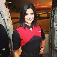 Avianca Airlines Stewardess