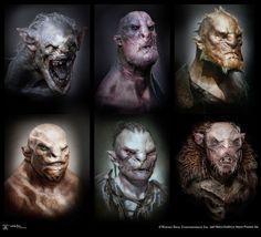 Orcs, Trolls & Wraiths Concept Art For Peter Jackson's The Hobbit Finale   Comicbook.com