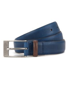 Bright colour block belt