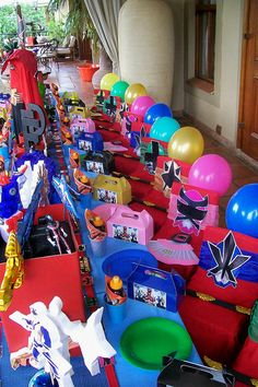 "'Power Rangers Masks"" by Treasures and Tiaras Kids Parties, via Flickr"