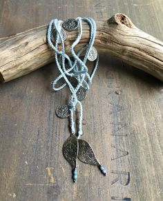 Crochet Lariat/Wrap bracelet