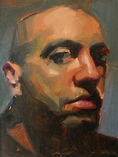 """""""Color study for Eddie"""", 5 X 7, oil on postcard, by: DC Morale'"""