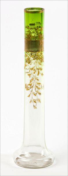 Starožitná secesní váza,Moser,Karlovy Vary