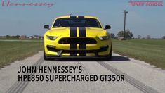Tire Testing John Hennessey's HPE850 GT350R Mustang