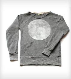 Full Moon Scoopneck Sweatshirt - Heather