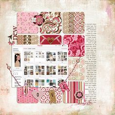 weekly challenge: scrapbook about a thing - mar 2, 2012 by Melanie Bauer at blog.basicgrey.com