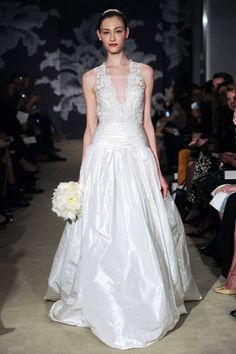 Carolina Herrera Spring 2015. Click through to see all the best looks from Bridal Week here.