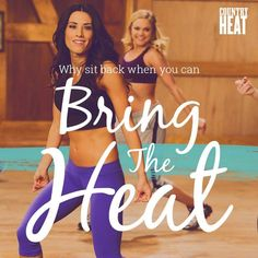 Seriously though, it's amazing how many calories you can burn when you're just having fun!  Check out the new Country Heat workout with trainer Autumn Calabrese.