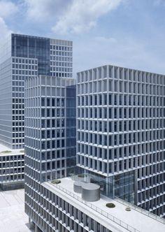 Gmp Architekten - Von Gerkan, Marg und Partner · Shenzhen software industry base (plot 1) · Divisare