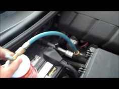How To Refill AC Refrigerant In A Car (R134a)- FULL Tutorial - YouTube