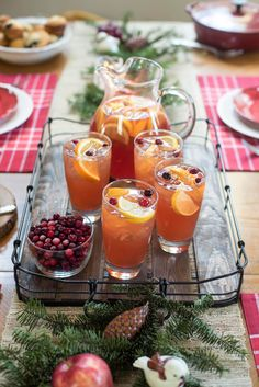 A fast, easy cold brew method creates this vibrant winter-inspired beverage. Brighten up your next winter meal with Cold Brew Cranberry Citrus Iced Tea. ~ http://www.fromvalerieskitchen.com