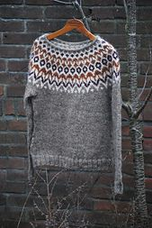 Left Side Of Body, Knit Crochet, Icelandic Sweaters, Turtle Neck, Pullover, Knitting, Ravelry, Crocheting, Sleeves