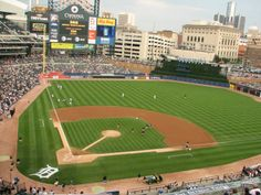 Comerica Park is an open-air ballpark located in Downtown Detroit. It serves as the home of the Detroit Tigers of Major League Baseball, replacing historic Tiger Stadium in 2000.