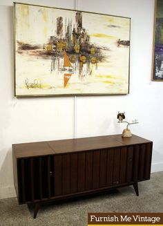Zenith Stereo Console