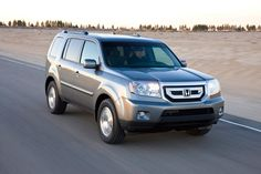 The Honda Pilot SUV. Only for those ready to take flight.
