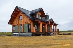 Tyee Log and Timber Log Cabin Getaways, Getaway Cabins, Mountain Home Exterior, Mountain House Plans, Wood Architecture, Cabin In The Woods, Wooden Cabins, Timber House, Post And Beam
