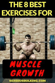 The 8 Best Muscle Building Exercises - SERIOUS BULKING