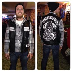 Sons of anarchy costume - Jax or Opie  sc 1 st  Pinterest & Sons of Anarchy Halloween costume. Samcro. Opie. | costume ideas ...