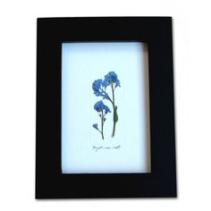 Forget Me Not Collage, $27.50, now featured on Fab.