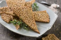 Organic Valley Brown Butter Sesame Crisps Recipe